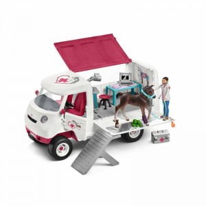 Schleich Horse Club Veterinaria móvil