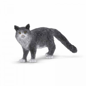 Schleich Farm World Gato Maine Coon