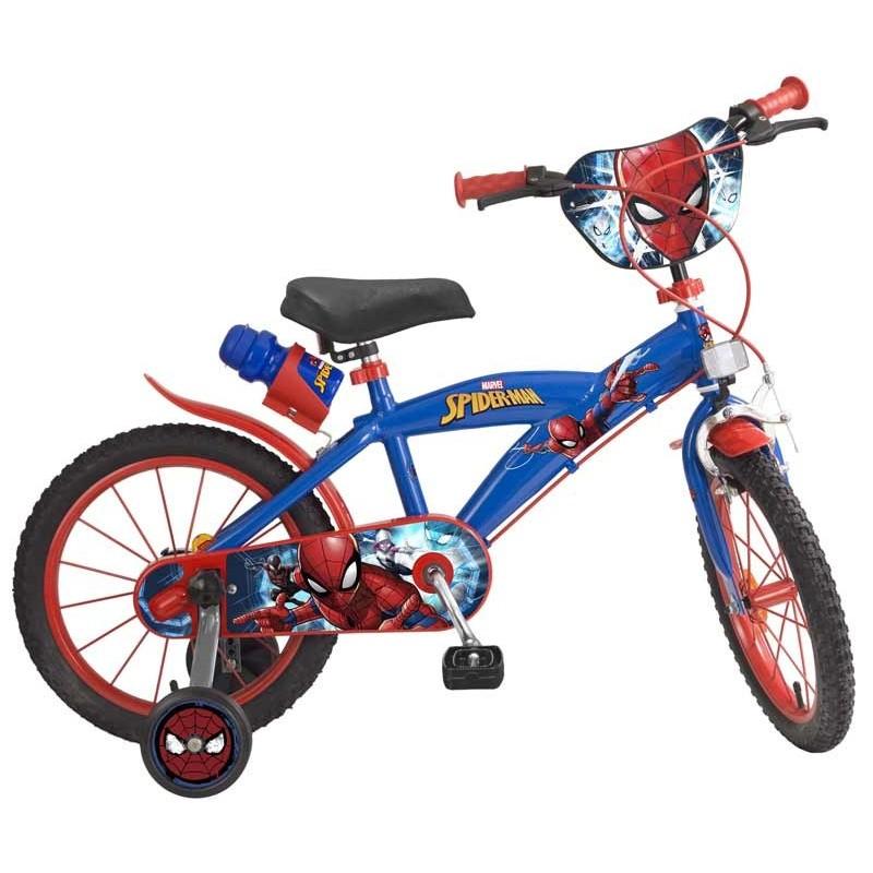 Bicicleta Spiderman 16 Pulgadas
