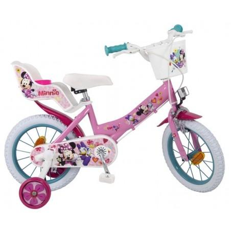 Bicicleta Minnie 14 pulgadas
