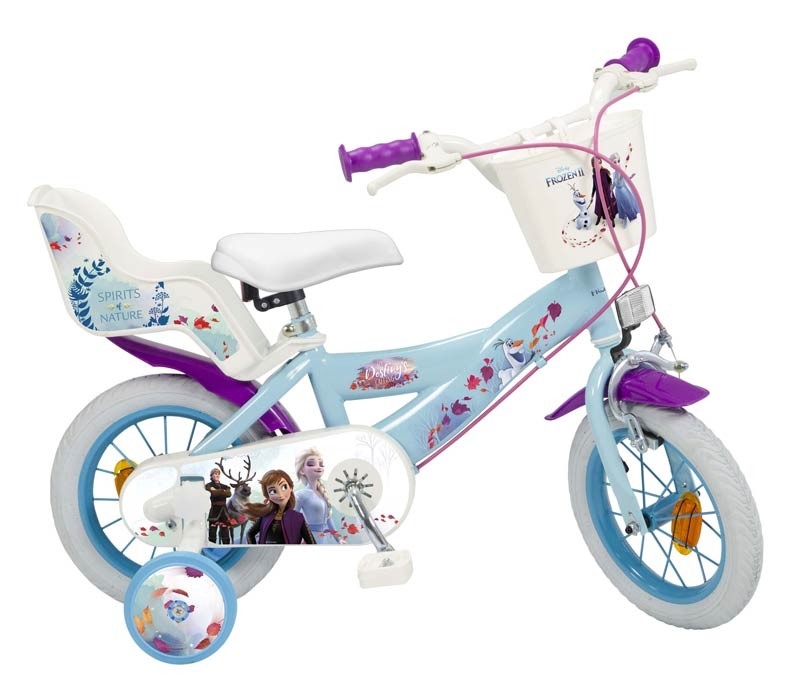 Frozen 2 Bicicleta 12 pulgadas