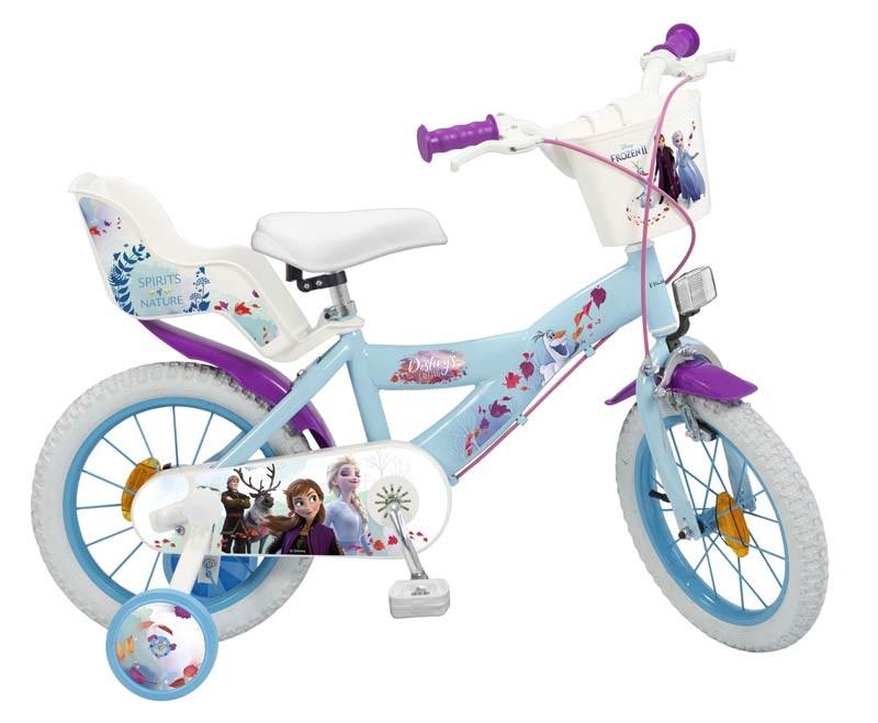 Frozen 2 Bicicleta 14 pulgadas