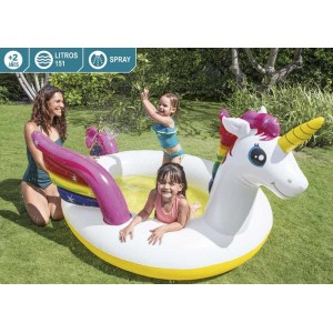 Piscina Hinchable Unicornio