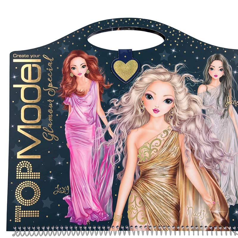 TOP Model Cuaderno Glamour Special