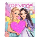 TOP Model Cuaderno de Colorear con Lentejuelas