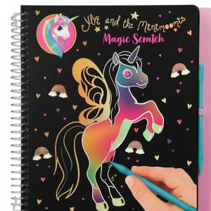 Ylvi y Minimoomis Cuaderno Magic Scratch
