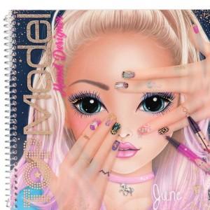 Top Model Cuaderno Crea Hand Desing