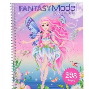 Fantasy Model Cuaderno de Pegatinas Dress Me Up