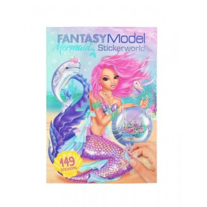 Fantasy Model Mermaid Stickerworld