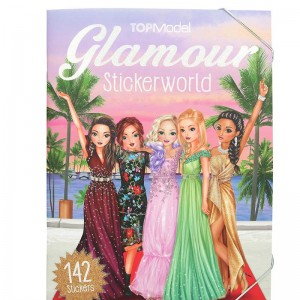 TOP Model Carpeta Glamour Stickerworld.
