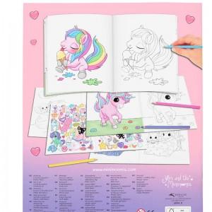 Cuaderno para Pintar Ylvi Create Your Unicorn