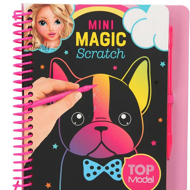 TOP Model Cuaderno Mini Magic-Scratch