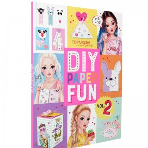 TOP Model Libro DIY Paper Fun