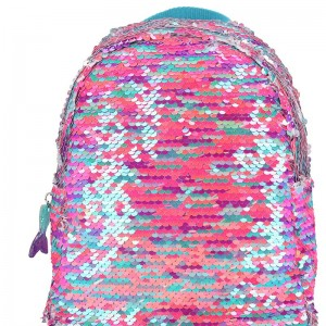 Fantasy Model Mermaid Mochila con Lentejuelas