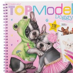 TOP Model Libro de Colorear Create your Doggy