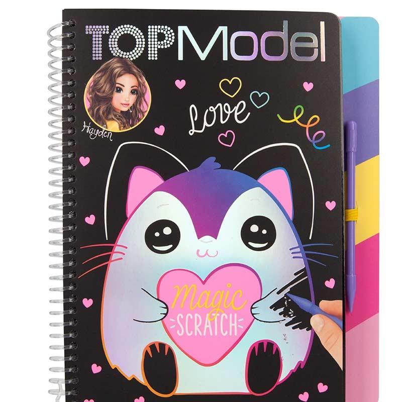 TOP Model Libro Magic-Scratch