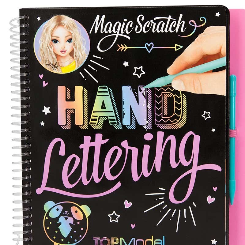 TOP Model Cuaderno Scratch Hand Lettering