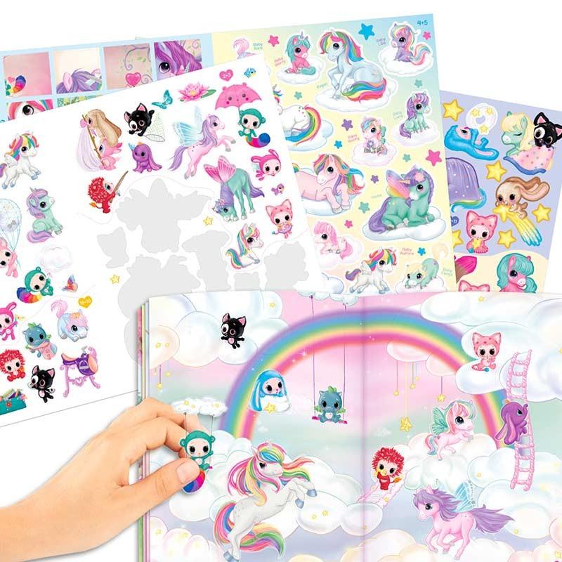 Cuaderno de Stickers Unicornio Naya´s World