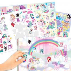 Cuaderno de Stickers Unicornio Naya´s World