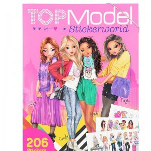 TOP Model Cuaderno de Pegatinas Stickerworld