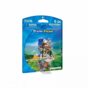 Playmobil Playmo-Friends Guerrero Lobo