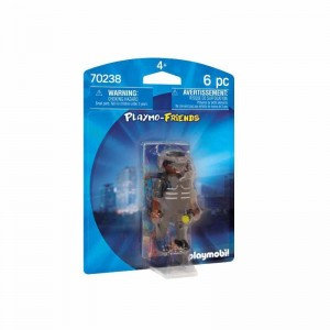 Playmobil Friends Agente Fuerzas Especiales