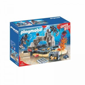 Playmobil City Action SuperSet Unidad de Buceo