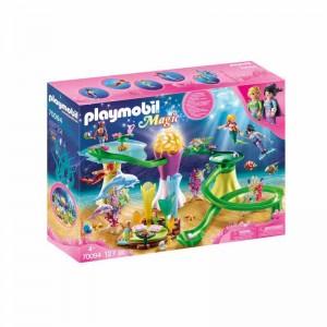 Playmobil Magic Cala de Sirenas con Cúpula Iluminada