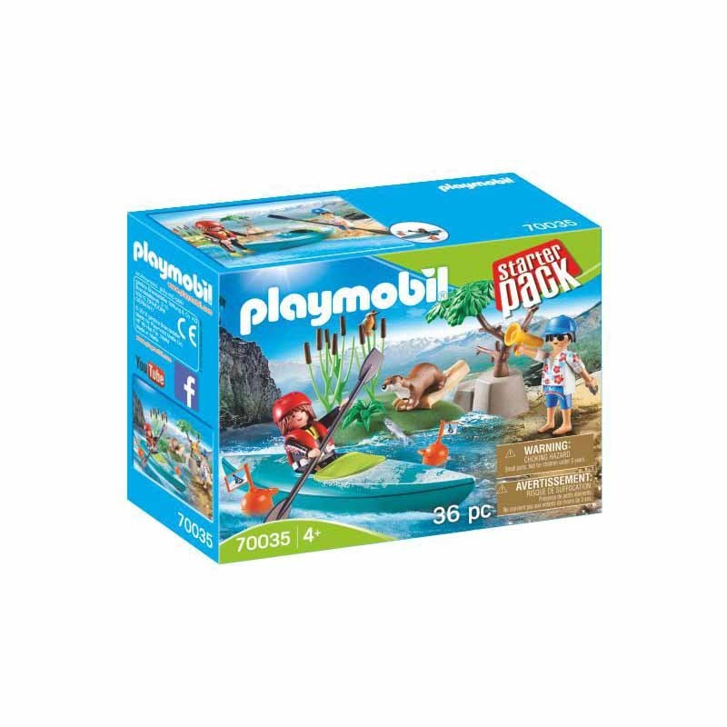 Playmobil City Action Aventura en Canoa