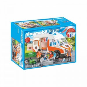 Playmobil City Life Ambulancia con Luces