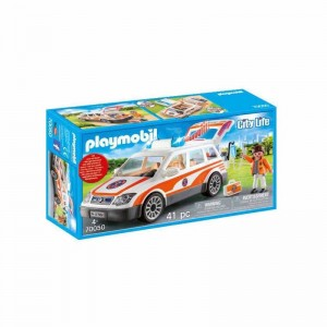 Playmobil City Life Coche de Emergencias con Sirena.