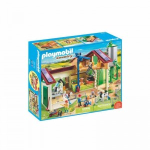 Playmobil Country Granja con Silo