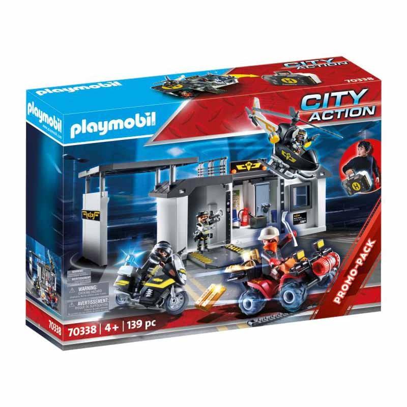 Playmobil Comisaría Fuerzas Especiales Maletín