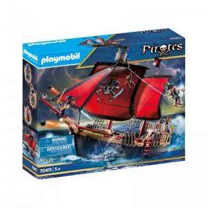 Playmobil Pirates Barco Pirata Calavera