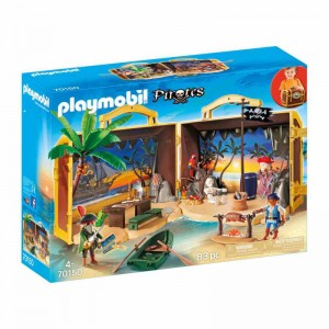 Playmobil Pirates Maletín Isla Pirata