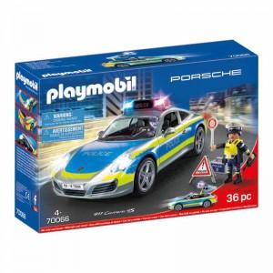 Playmobil Porsche 911 Carrera 4S Policía