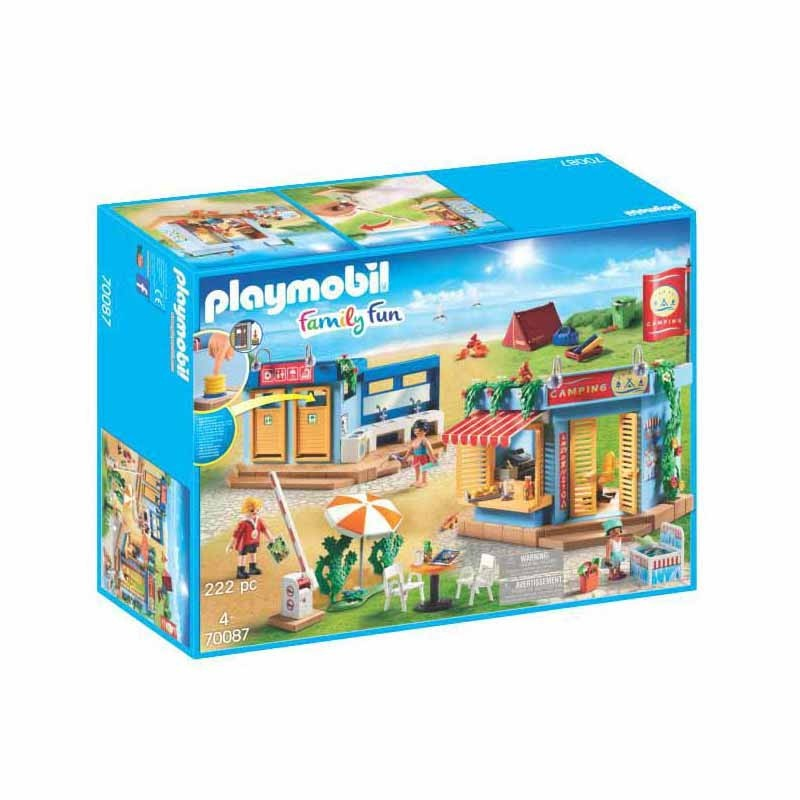 Playmobil Family Fun Camping