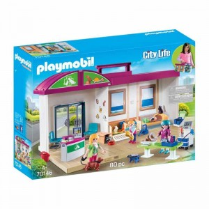 Playmobil City Life Clínica Veterinaria