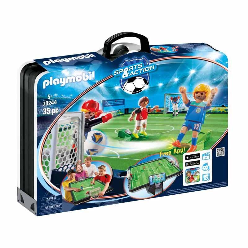 Playmobil Sports and Action Campo de Fútbol