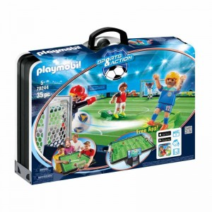 Playmobil Sports and Action Campo de Fútbol