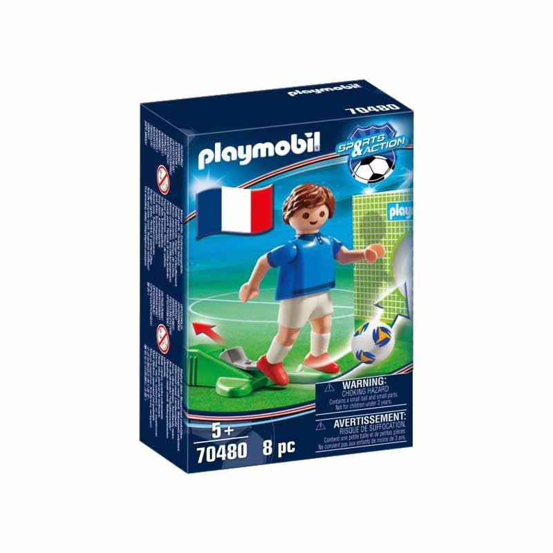 Playmobil Futbolísta Selección Francia