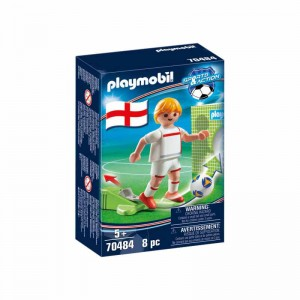 Playmobil Jugador de Fútbol Inglaterra