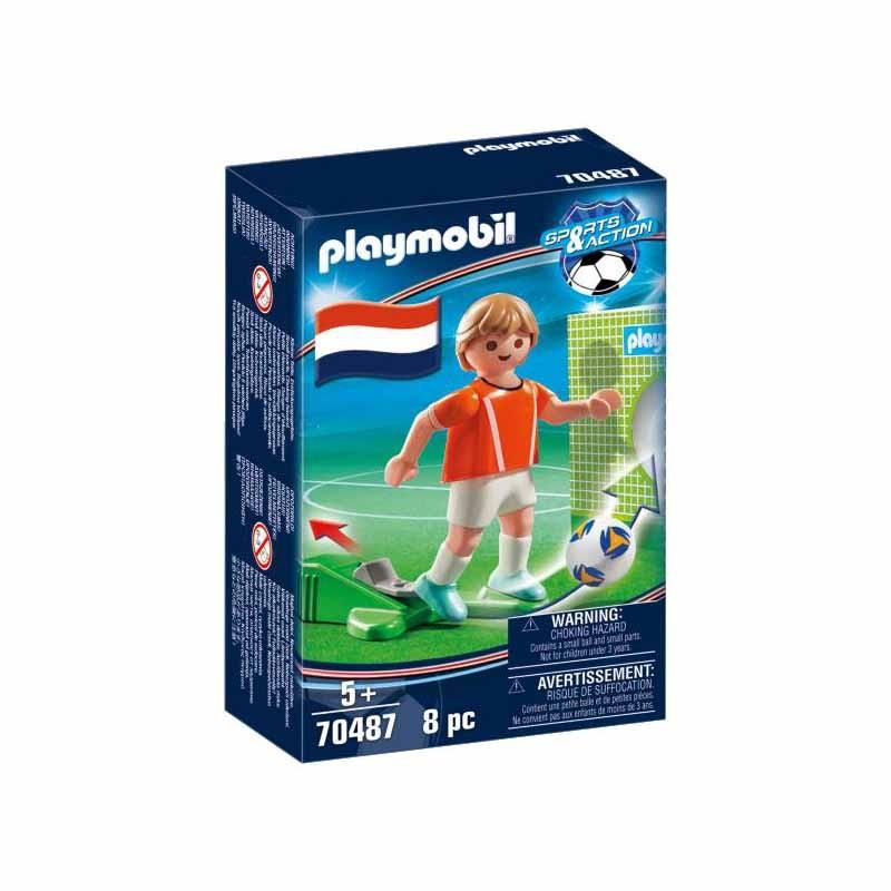 Playmobil Jugador de Fútbol Holanda