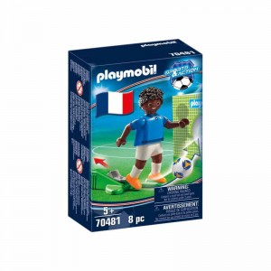 Playmobil Jugador de Fútbol Francia B