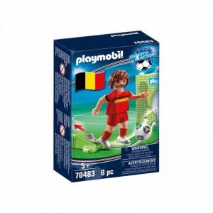 Playmobil Jugador de Fútbol Bélgica