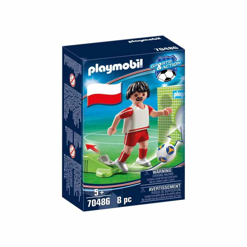 Playmobil Jugador de Fútbol Polonia