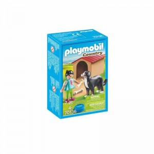Playmobil Country Perro con Casita