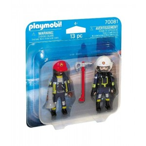 Playmobil City Action Duo Pack Bomberos