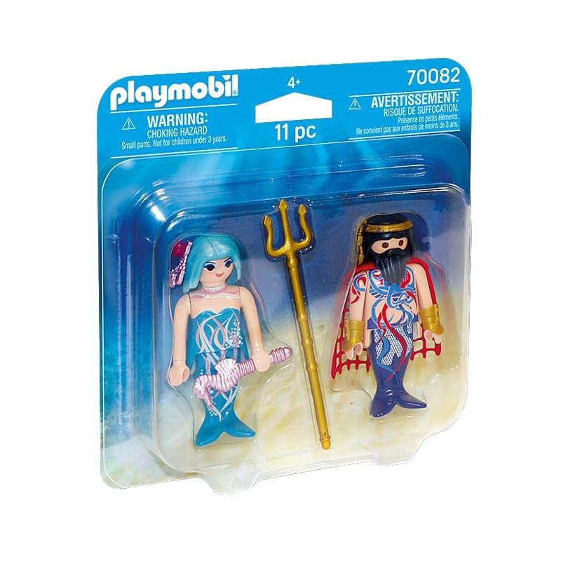 Playmobil Magic Pack Rey del Mar y Sirena