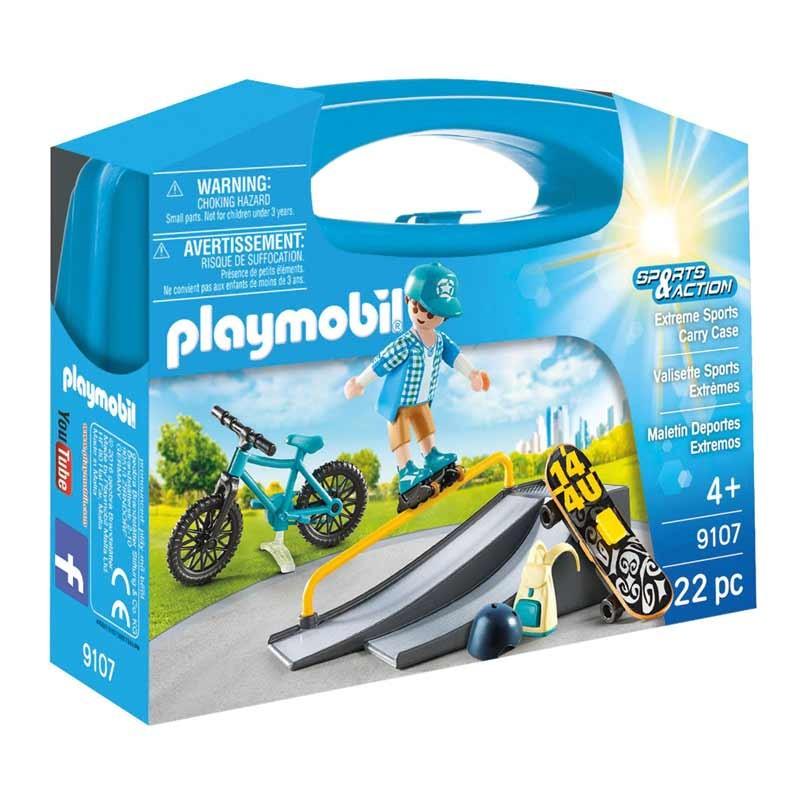 Playmobil Sport & Action Maletín Deportes Extremos